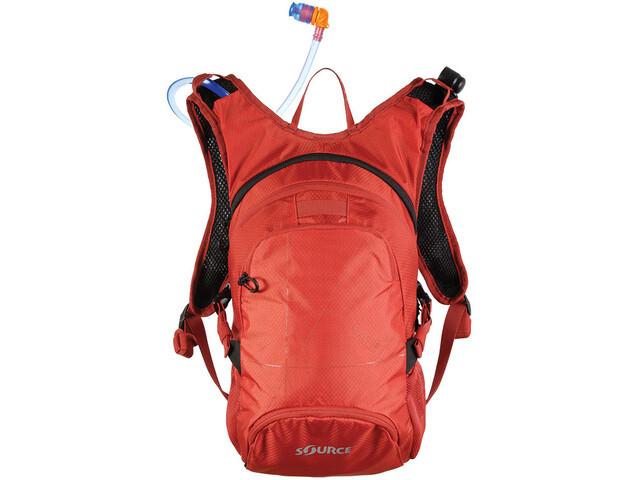 SOURCE Fuse Pack Hidratación 2+6l, rojo/naranja